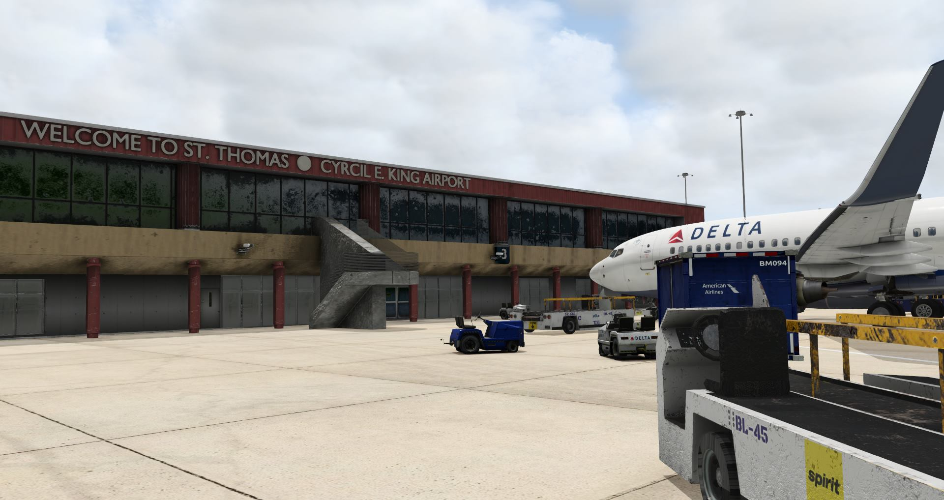 Departure Designs Announces Cyril E  King Airport and New