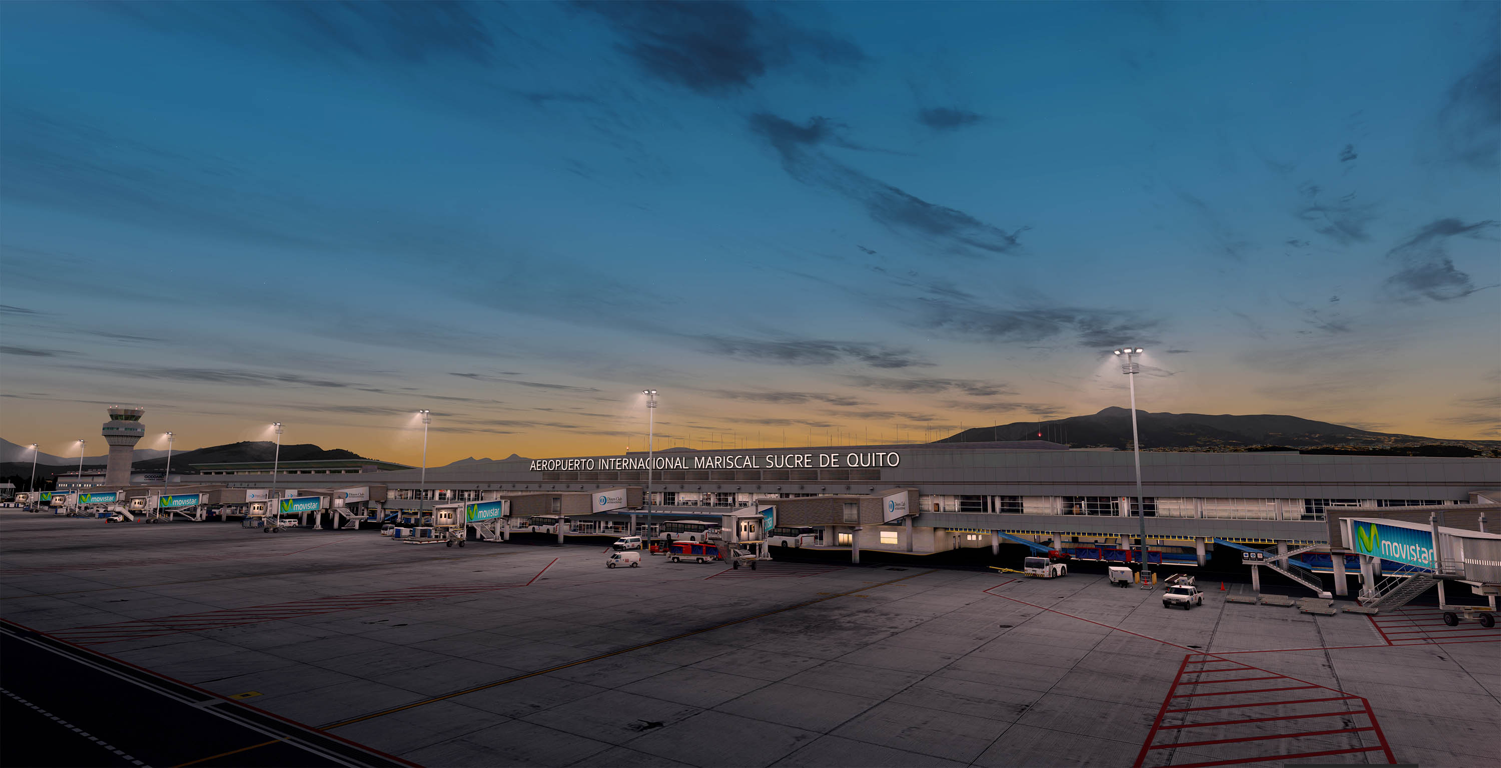 FSElite Flightbeam SEQM Quito International Airport Prepar3D V4 (13)