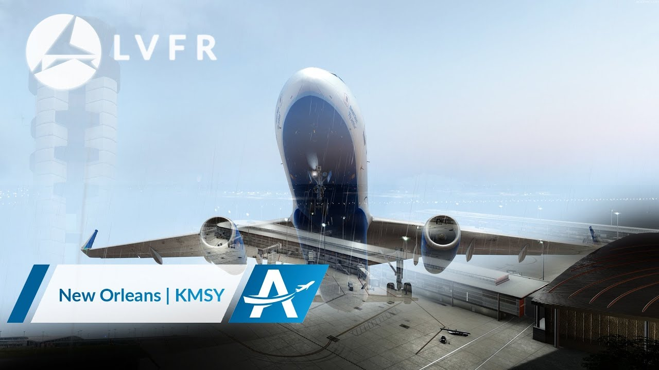 Official Trailer LatinVFR New Orleans Airport KMSY AviationLads.com