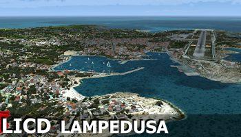 RFSCENERYBUILDING LICD LAMPEDUSA AIRPORT FSX P3D (6)