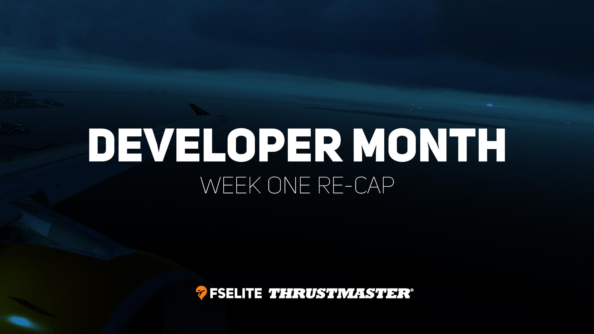 Week 1 Re Cap