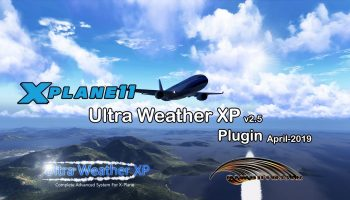 X Plane 11 Ultra Weather XP V2.5 Plugin Promo Not Yet Released Coming Very Soon