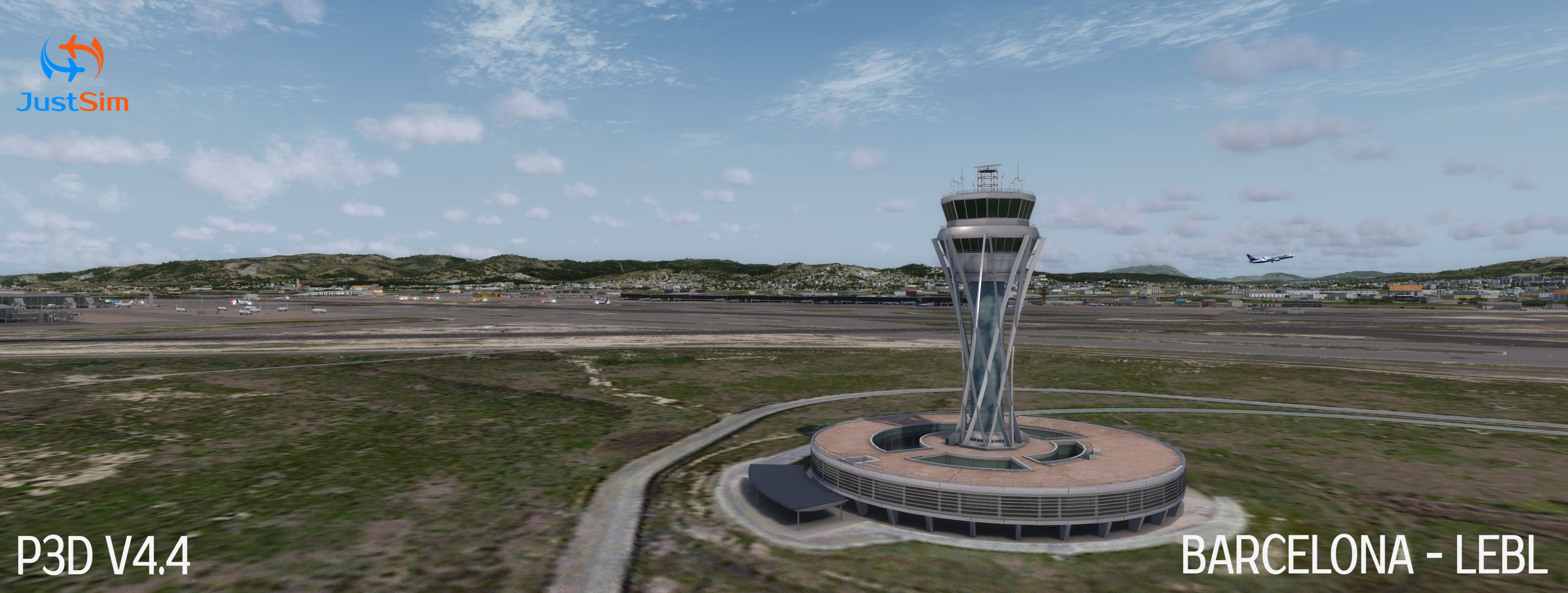 Sim-Wings – Barcelona Professional (LEBL / BCN) – DCTRY