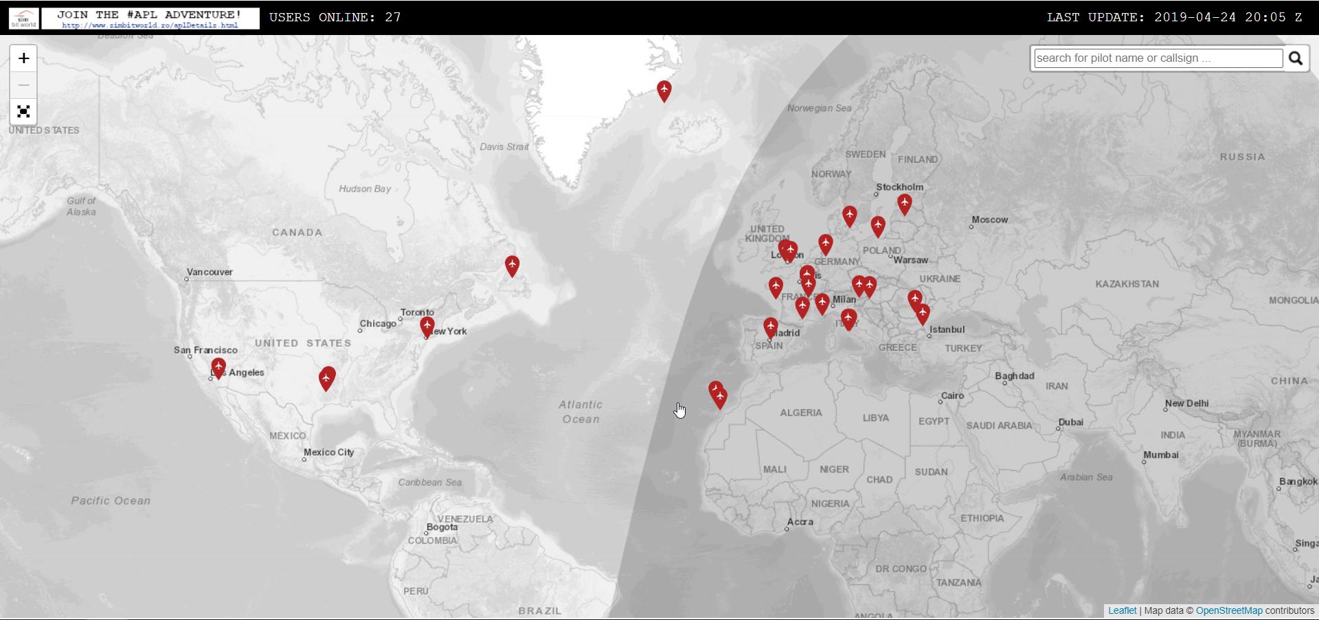Simbitworld Live Map
