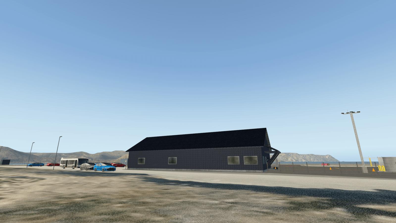 hard landing studio releases enhv  u2013 honningsvag airport
