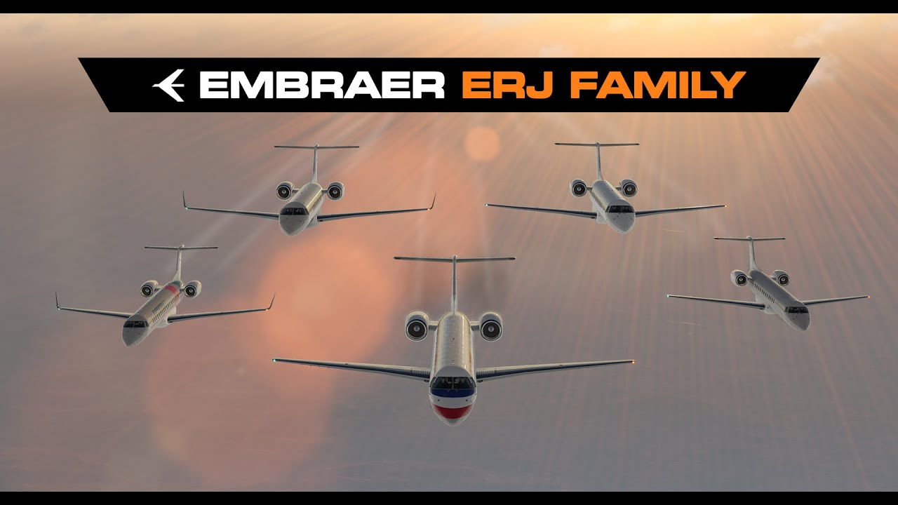 Embraer ERJ Family By X Crafts X Plane 11