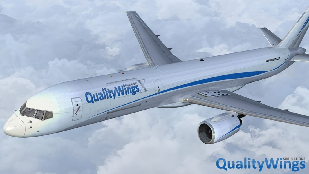 QualityWings Simulations Releases the Ultimate 757