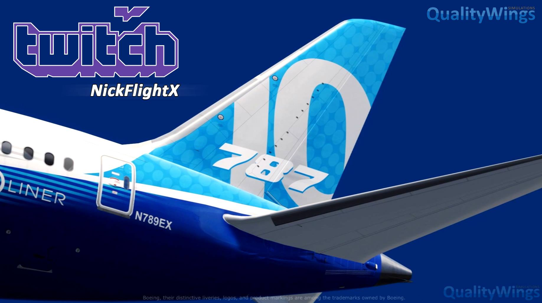 QualityWings 787-10 Being Live Streamed 04-Jun-2019 – FSElite