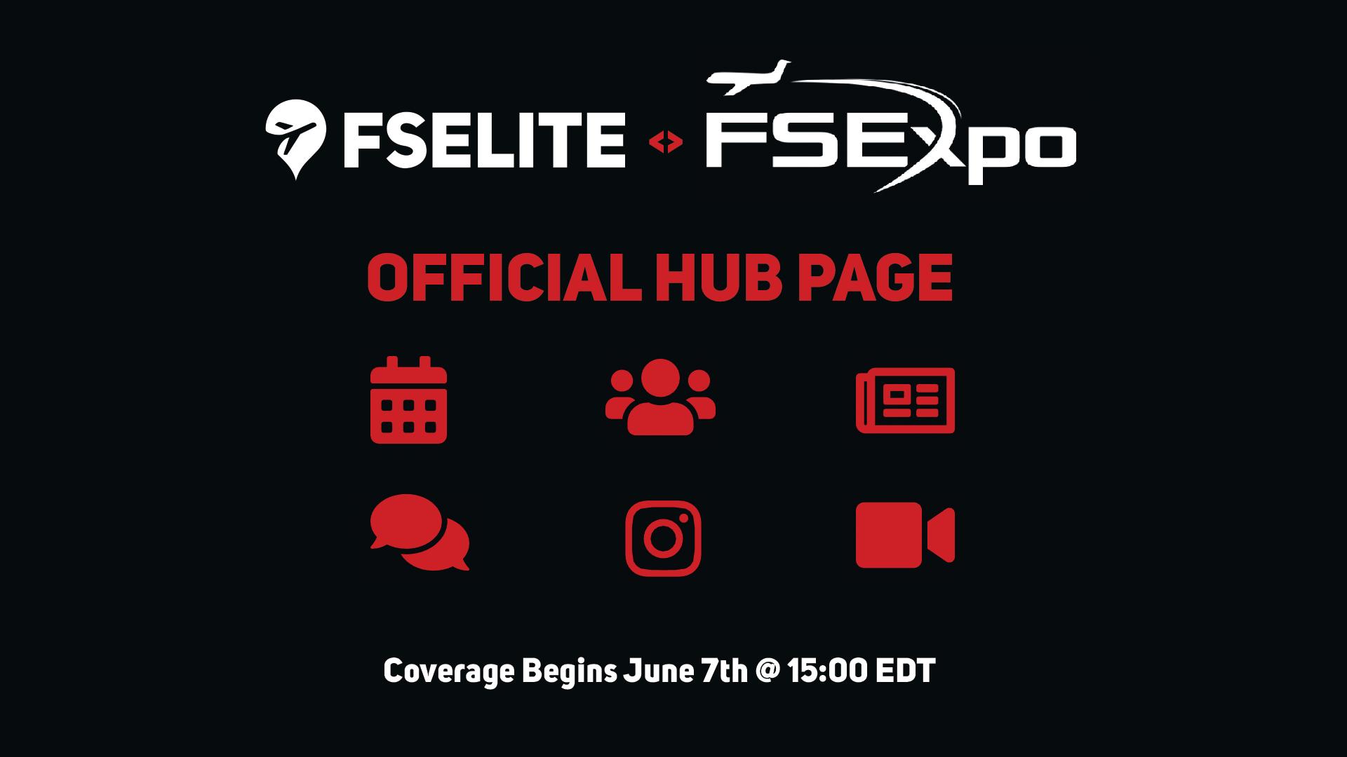 FSEXPO Fselite Hub Banner