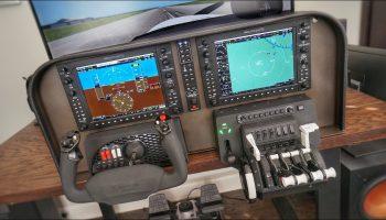 EPIC Home Flight Sim Cockpit HONEYCOMB RealSimGear G1000 SLAVX X Plane 11