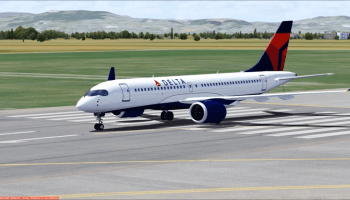 Delta A220 Whiskey Jet Simulations