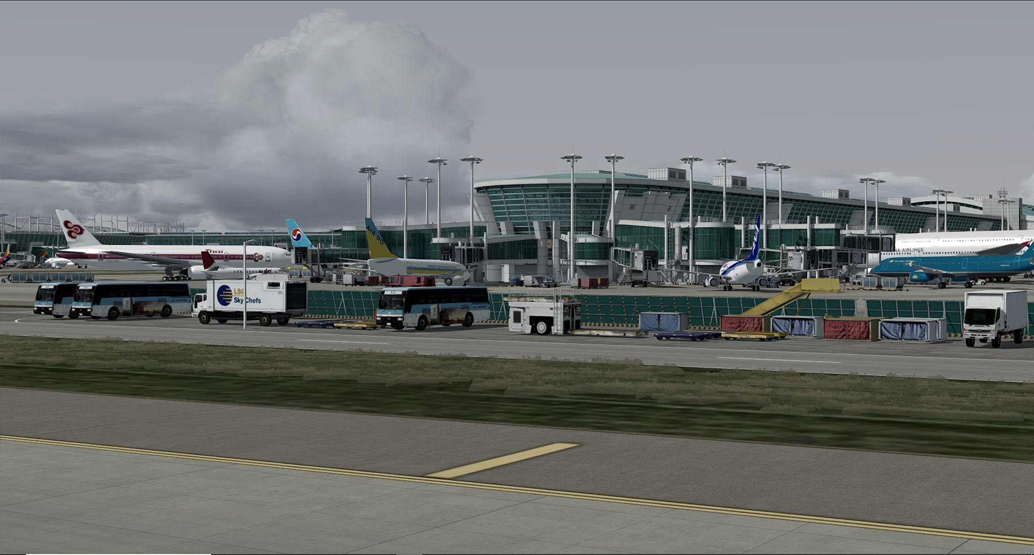 Pacific Islands Simulation Previews Incheon Intl (RKSI) – FSElite