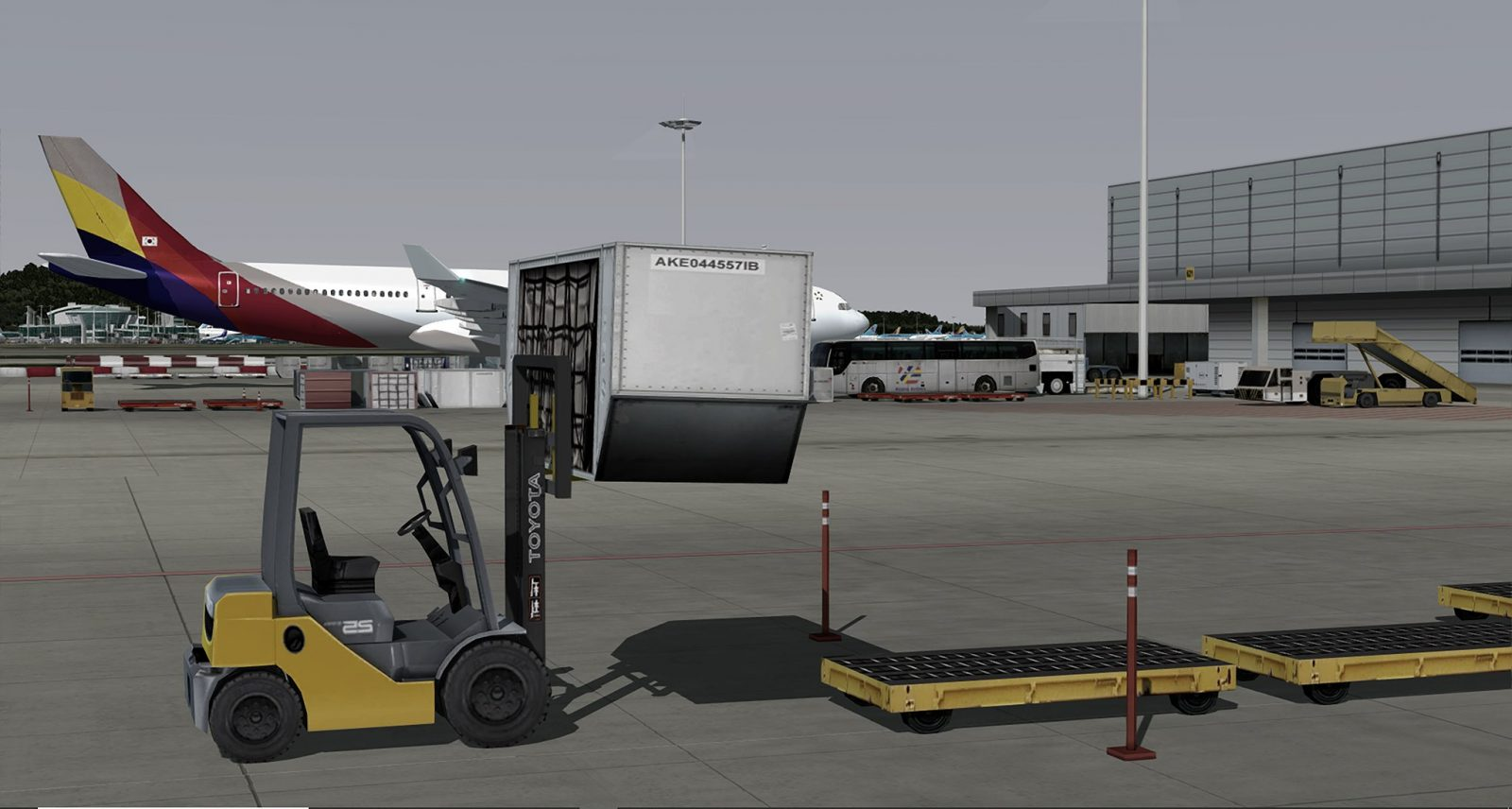 Pacific Islands Simulation Previews Incheon Intl (RKSI