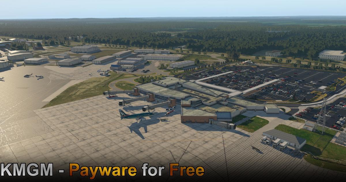 X-Codr Releases Freeware Montgomery Regional Airport (KMGM) for X