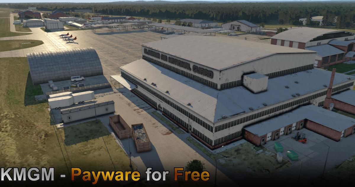 X-Codr Releases Freeware Montgomery Regional Airport (KMGM