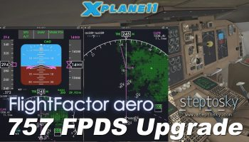 Flight Factor Step To Sky 757 FPDS For X Plane 11