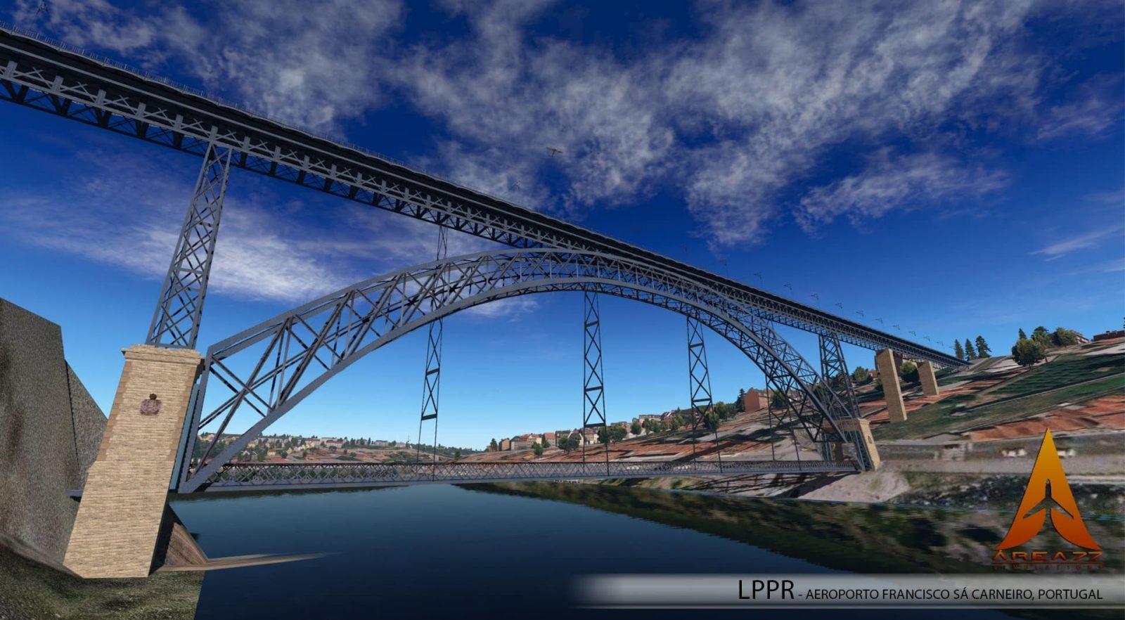 Area 77 Porto Airport Scenery Released for X-Plane 11 - FSNews