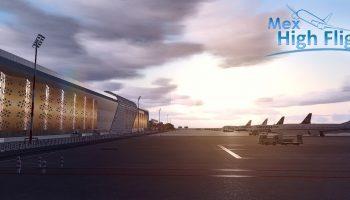 Mex High Flight Marrakech Airport 201