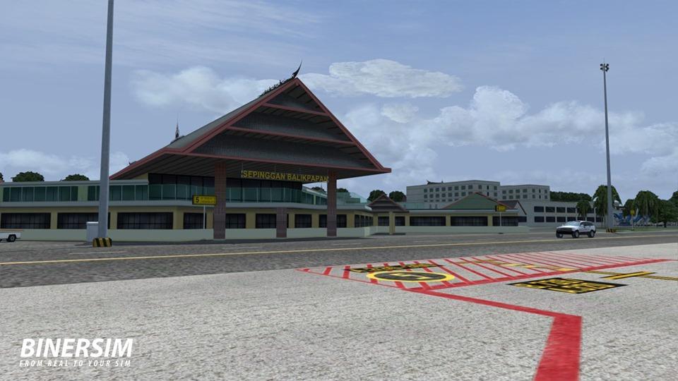 BinerSim Updates Aji Muhammad Sulaiman Airport for P3D and