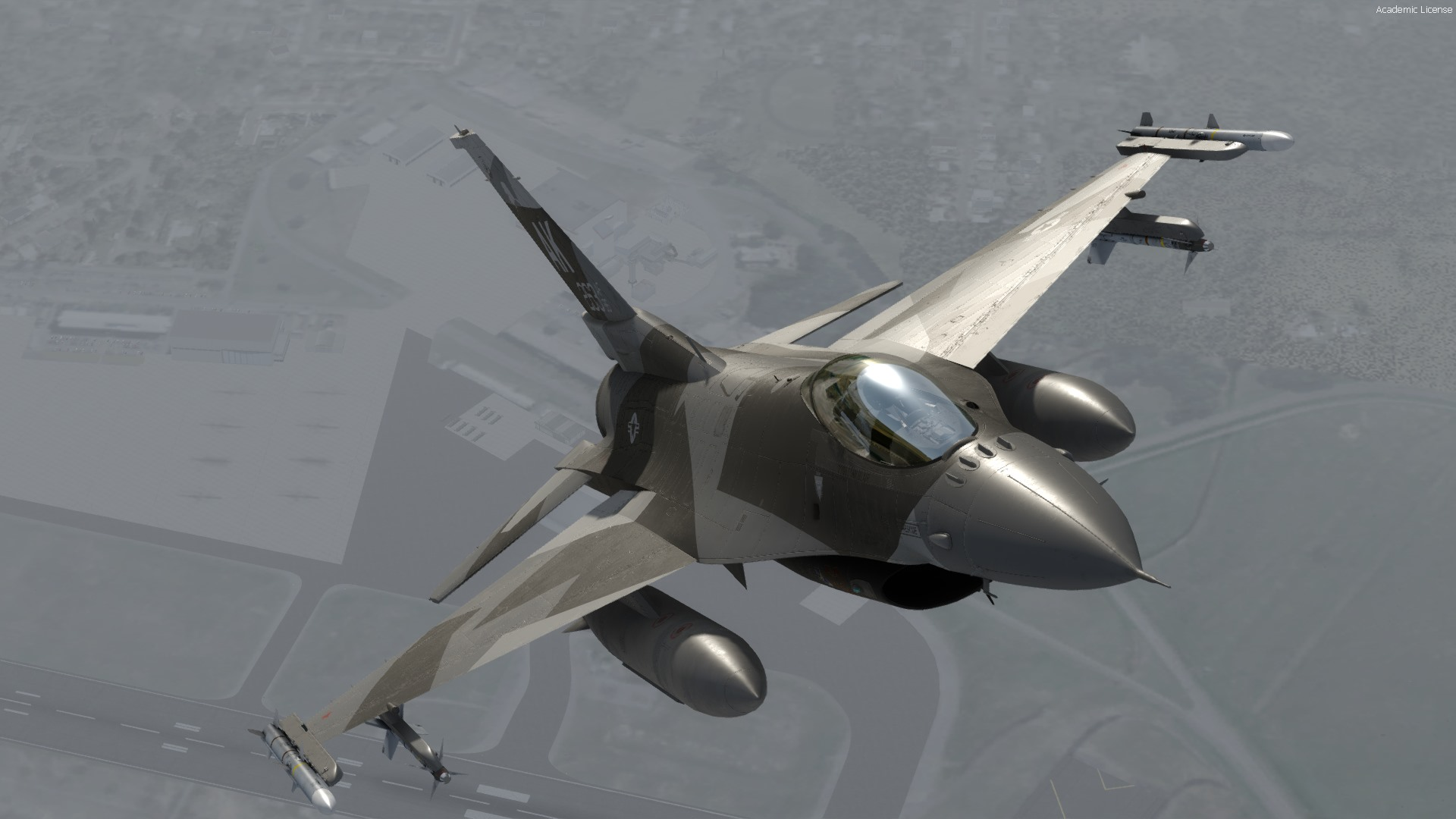 Milviz Shares New F 16C Preview FSElite