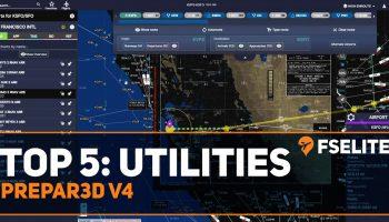 Top 5 Utilities For Prepar3d V4 A FSElite Special