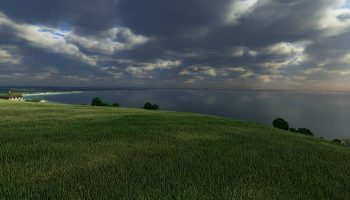 Procedurally Generated Grass Normandie 1