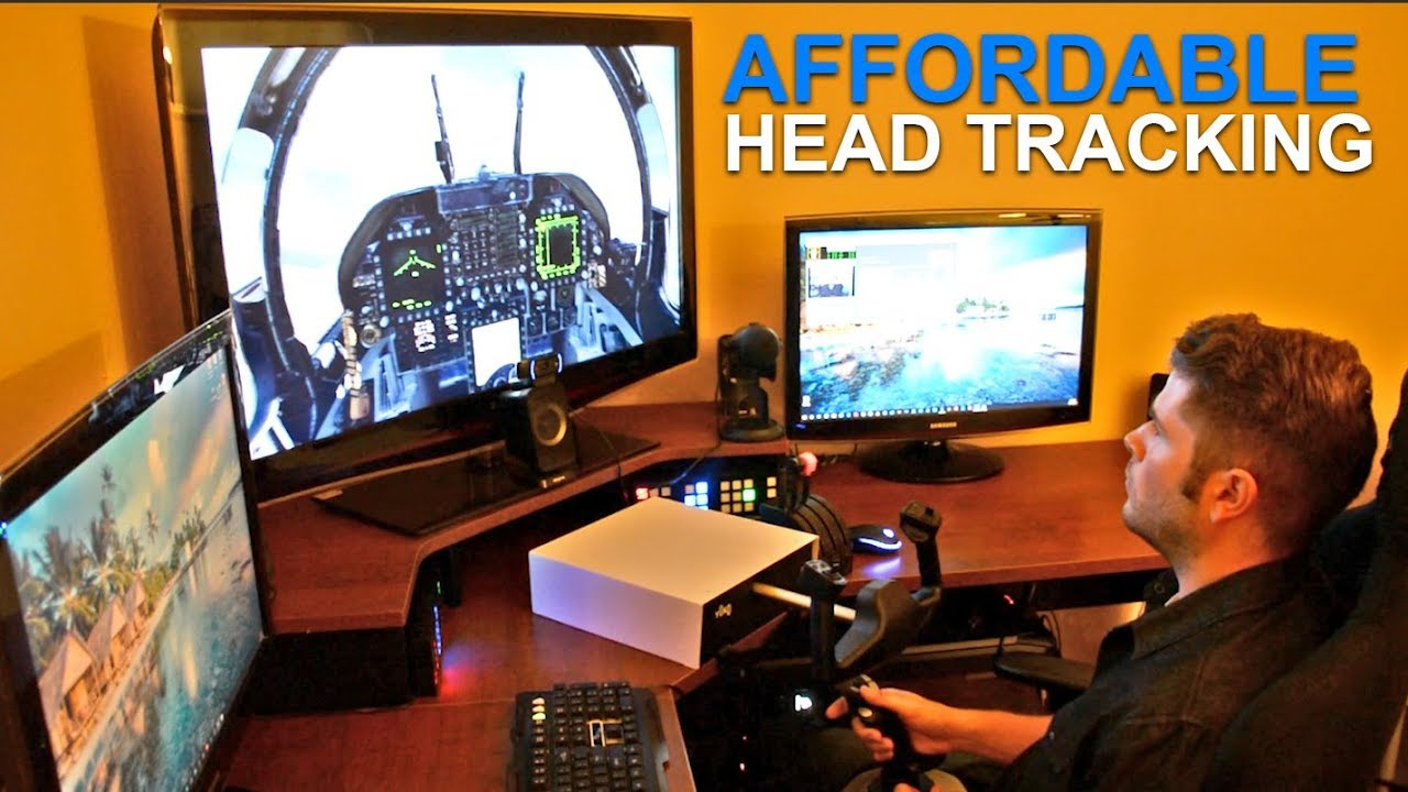 Flight Sim How To Head Tracking With A Webcam And 3