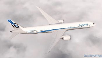 QualityWings 787 The Dash 10