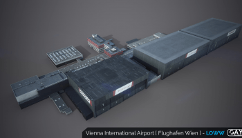 Gayasimulations Vienna Airport P3d X Plane 11 (10)
