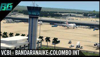 VCBI Bandaranaike Colombo Int Trailer X Plane 11