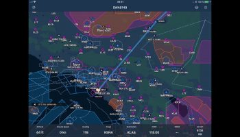 IOS AeroNavMap For X Plane Preview