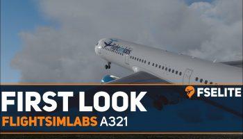 FlightSimLabs A321 X The FSElite First Look