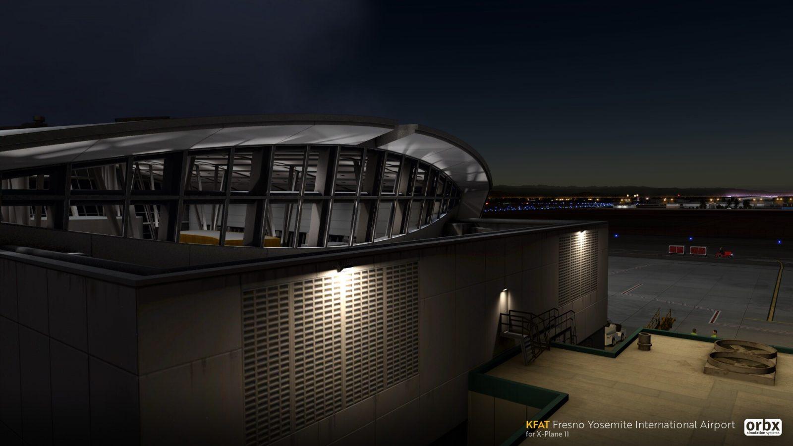 Orbx Releases Fresno Yosemite Airport (KFAT) For X-Plane