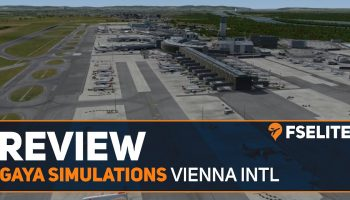 Gaya Simulations Vienna International Airport The FSElite Review