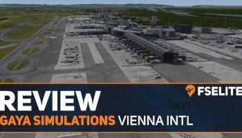 Gaya Simulations Vienna International Airport The FSElite Review