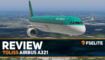 ToLiss Airbus A321 Featured Image FSElite Review