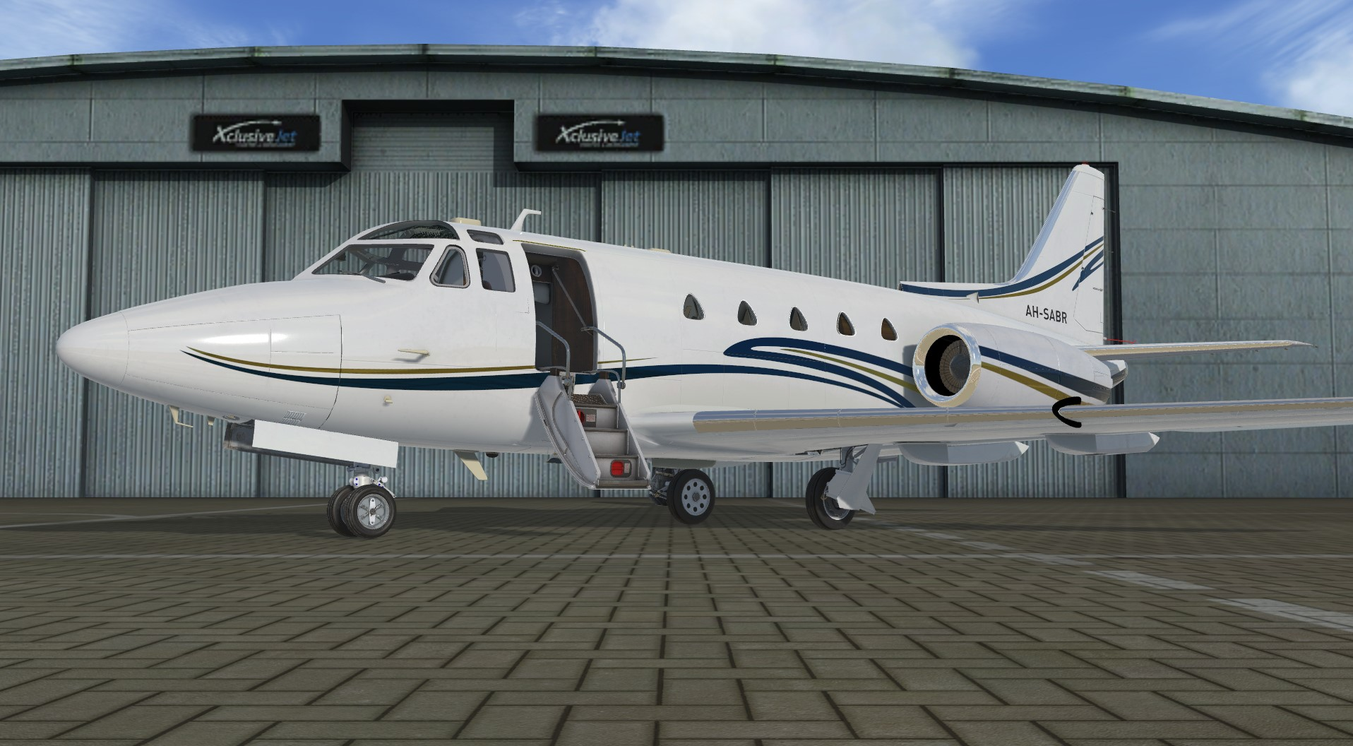 106510188_1905258686279162_7870532078608688681_o Aeroplane Heaven Previews North American Sabreliner