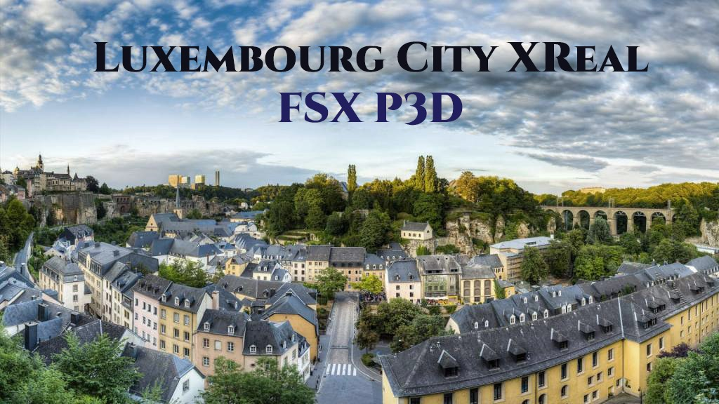 235070_lux_cover SamScene Releases Luxembourg City XReal for Prepar3D