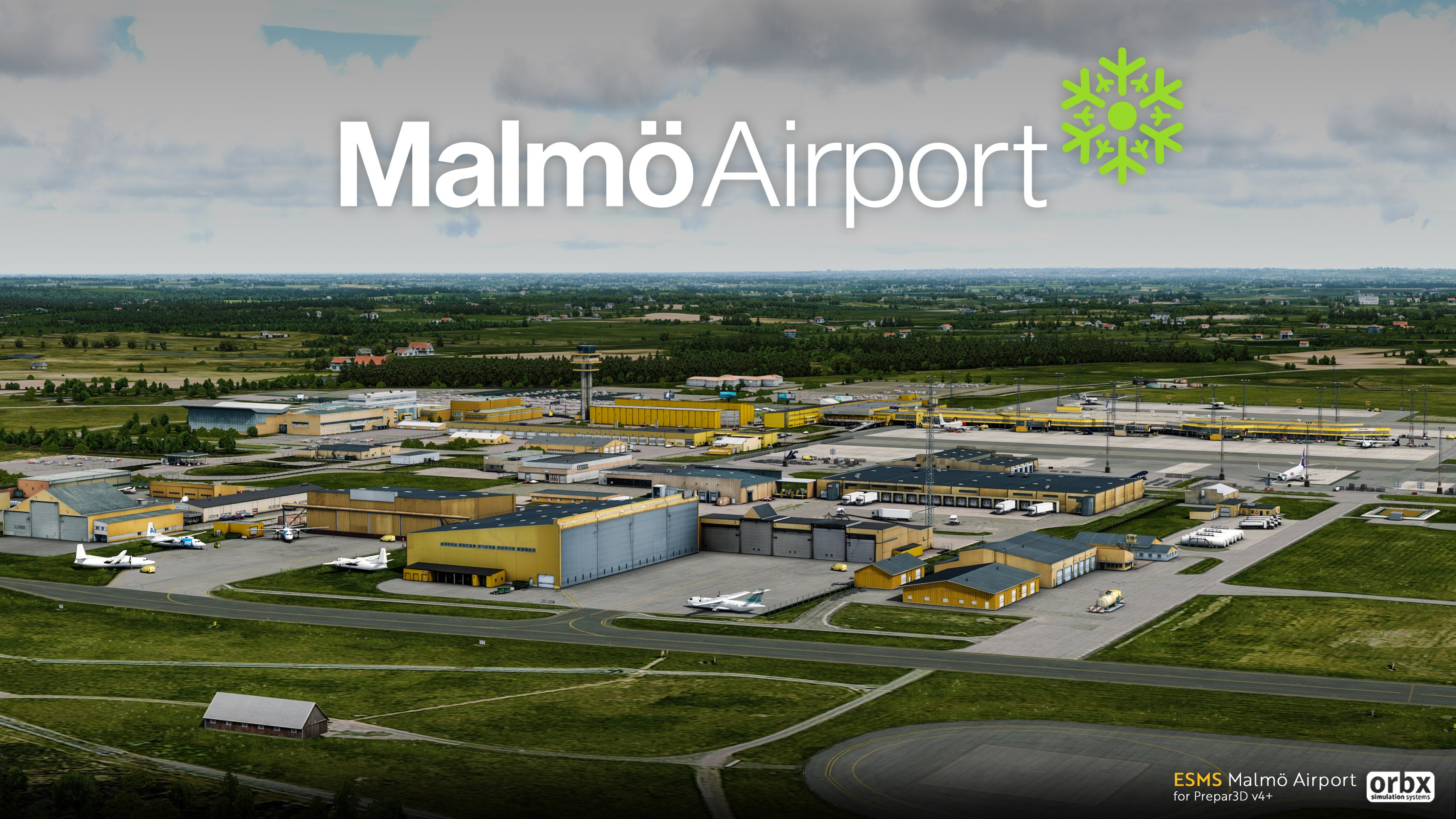 MalmoFeature Orbx Announces Malmö Airport for P3D