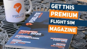 PREMIUM Flight Simulation Physical Magazine