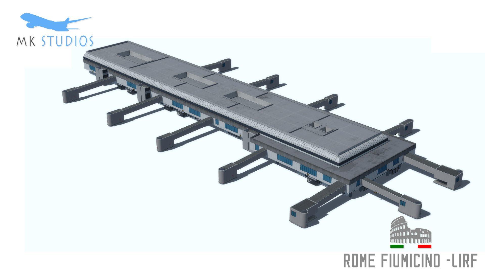 Rome1 MK-Studios Unveils Rome-Fiumicino