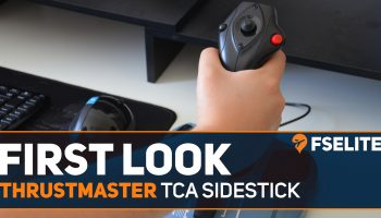 THRUstmaster Tca Sidestick First Look