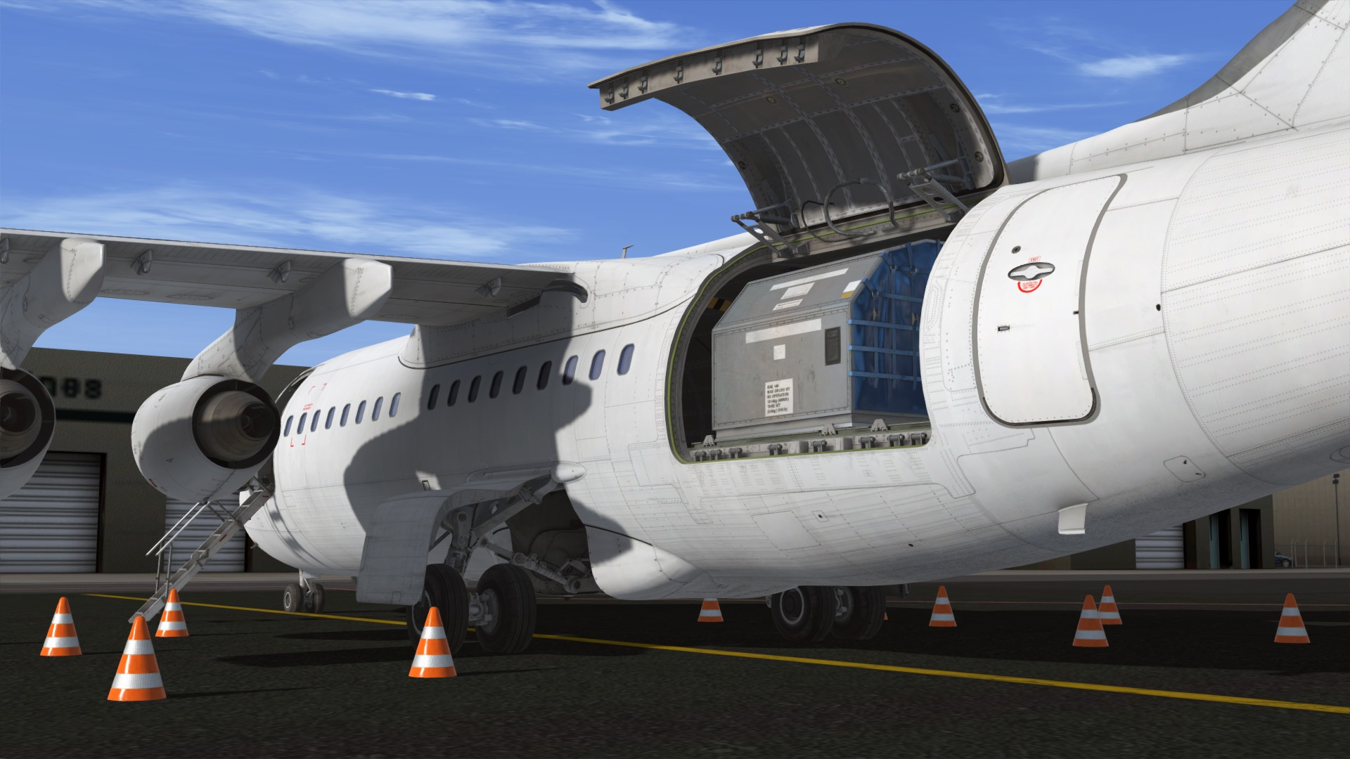 just-flight-146-professional-frieghter-p3d-7 Just Flight Previews Even More BAe 146 Professional Previews