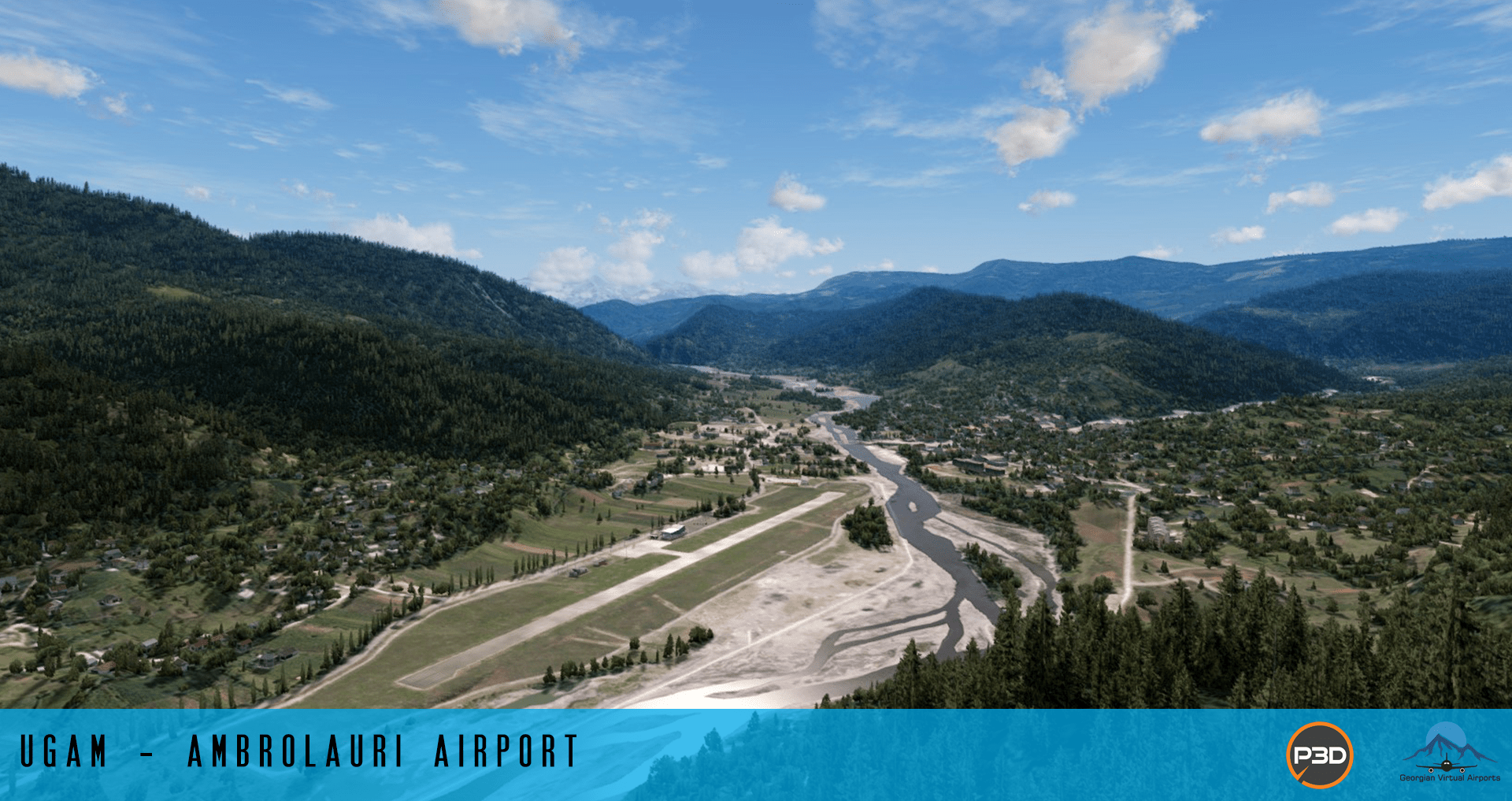 Azj1wLR Georgian Virtual Airports Release Freeware UGAM-Ambrolauri