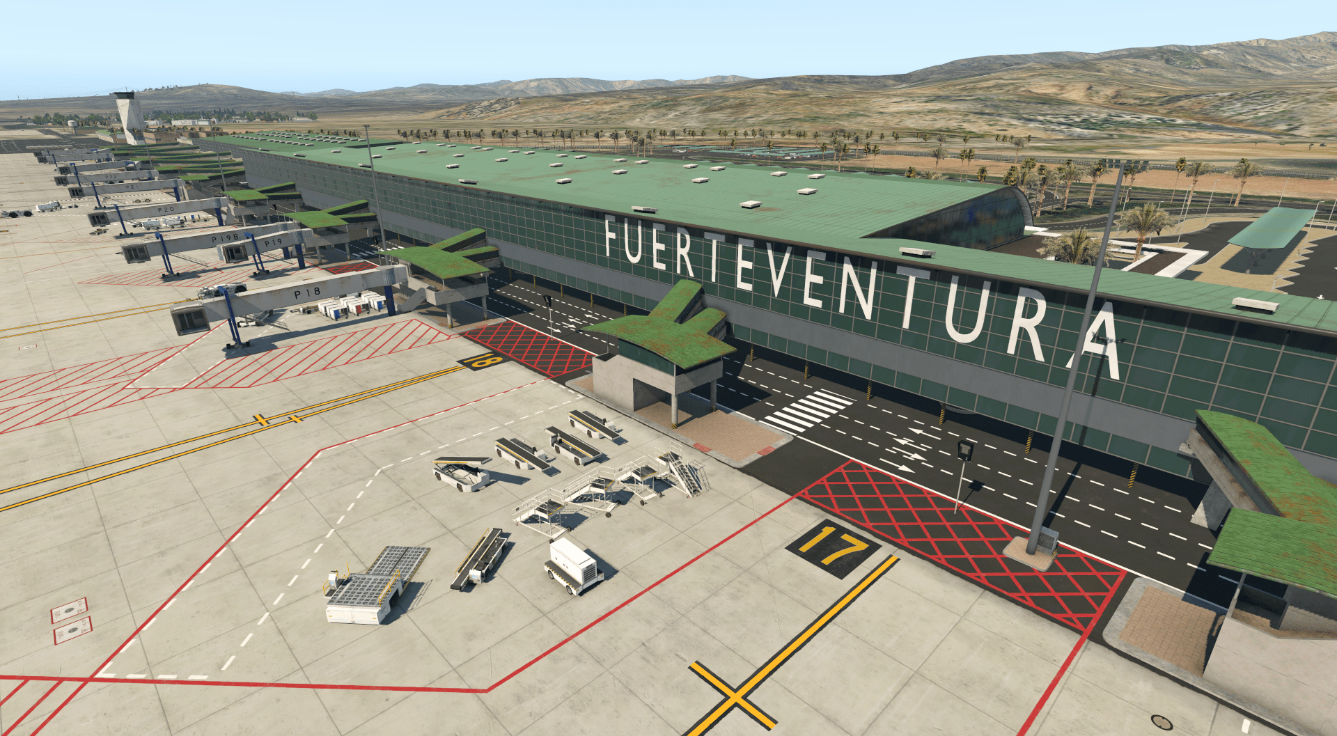 Fuerte1 FLY X Simulations Announces Fuerteventura for Xplane-11