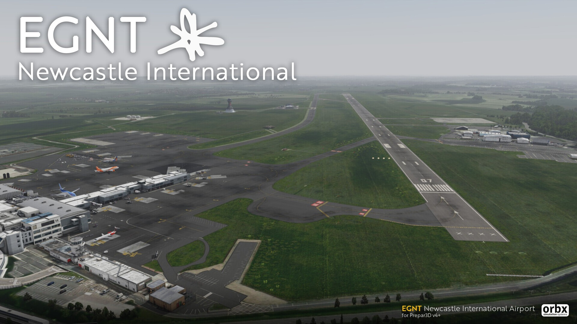 orbx-egnt-newcastle-airport-p3d-v5-6 Orbx Newcastle Airport (EGNT) Released