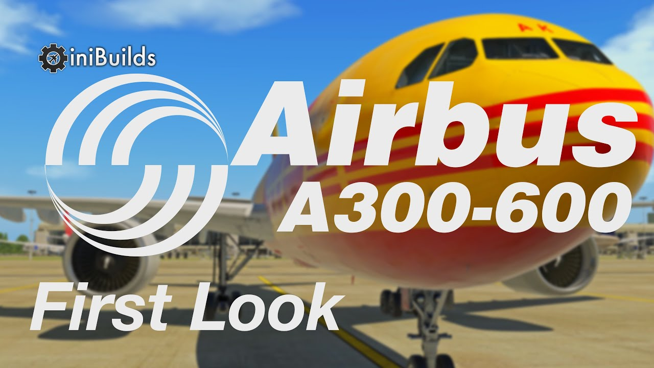 Watch Airline2Sim Preview the iniSimulations A300