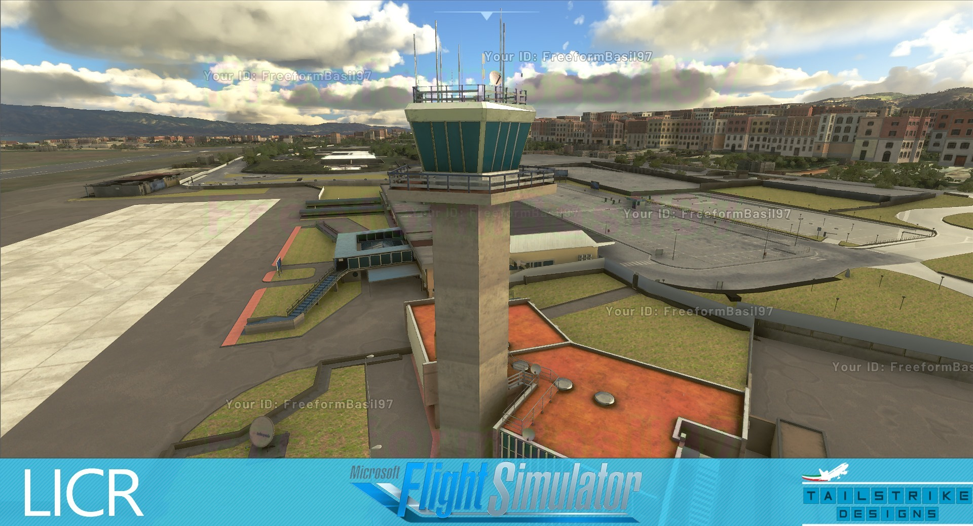 Tailstrike Designs Previews Reggio Calabria Airport for MSFS