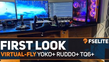 Virtual Fly YOKO RUDDO TQ6 The FSElite First Look