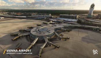 Microsoft Flight Simulator Gaya Simulations Vienna Airport Loww